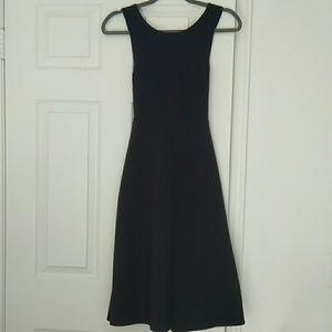 Banana Republic Black Dress with Pockets 2P